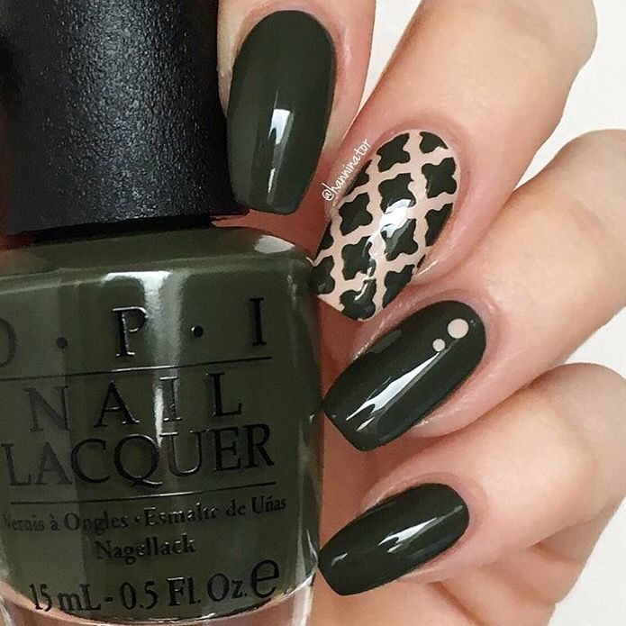 Moroccan Nail Stencils | Nail stencils, Accent nails and Manicure