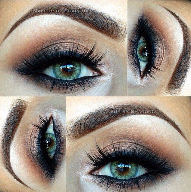 14 Overwhelming Smokey Eye Makeup Looks And Tutorials Pretty Designs Smokey Eye Makeup Makeup For Green Eyes Eye Makeup