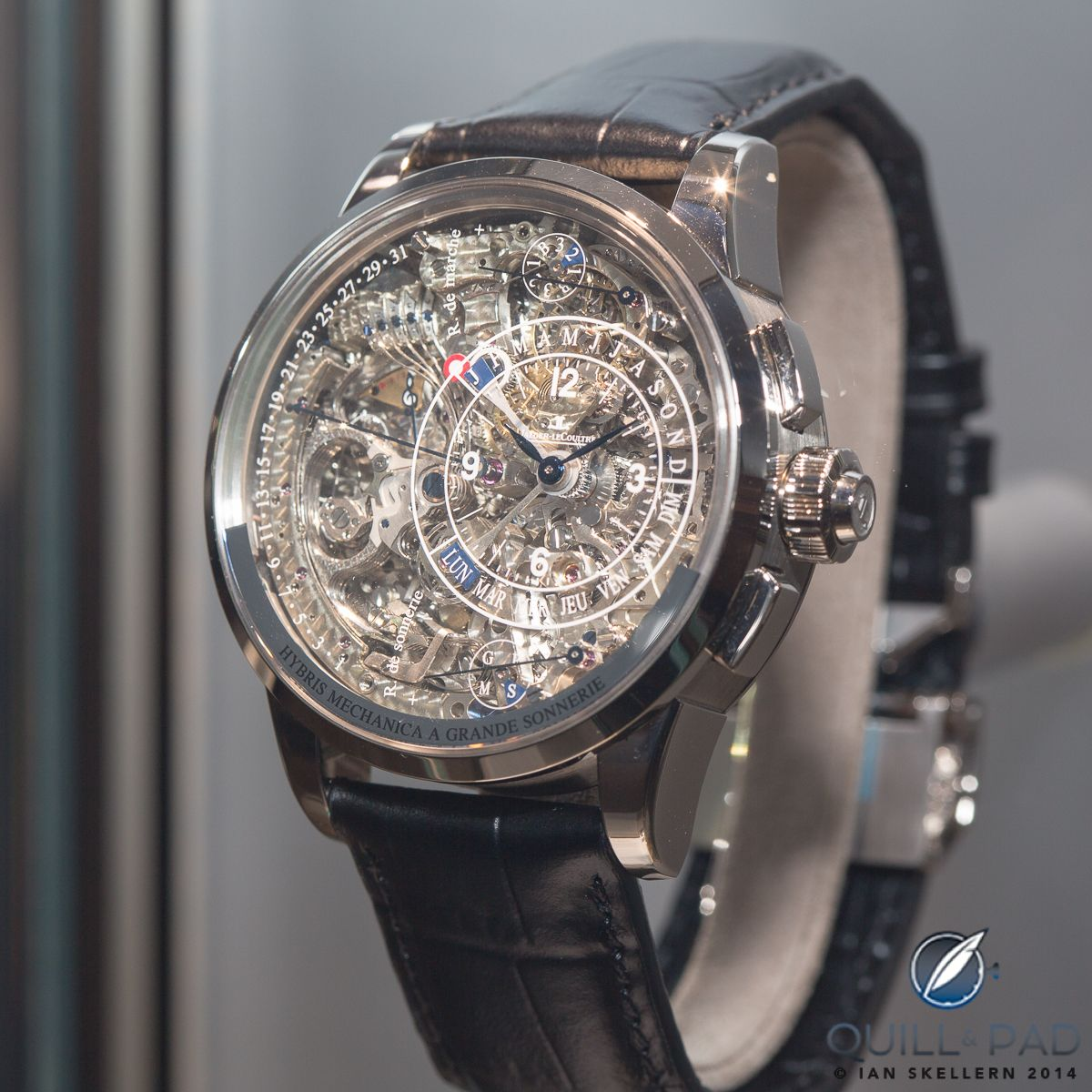 The jaeger lecoultre duom tre grande sonnerie within the unique hybris artistica collection for Grande sonnerie