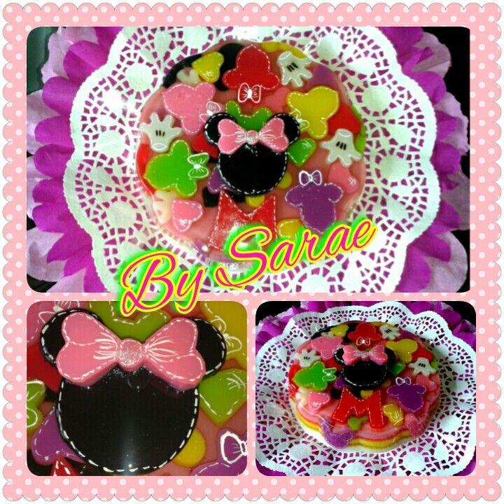 #gelatina #jelly #minniemouse #bysarae