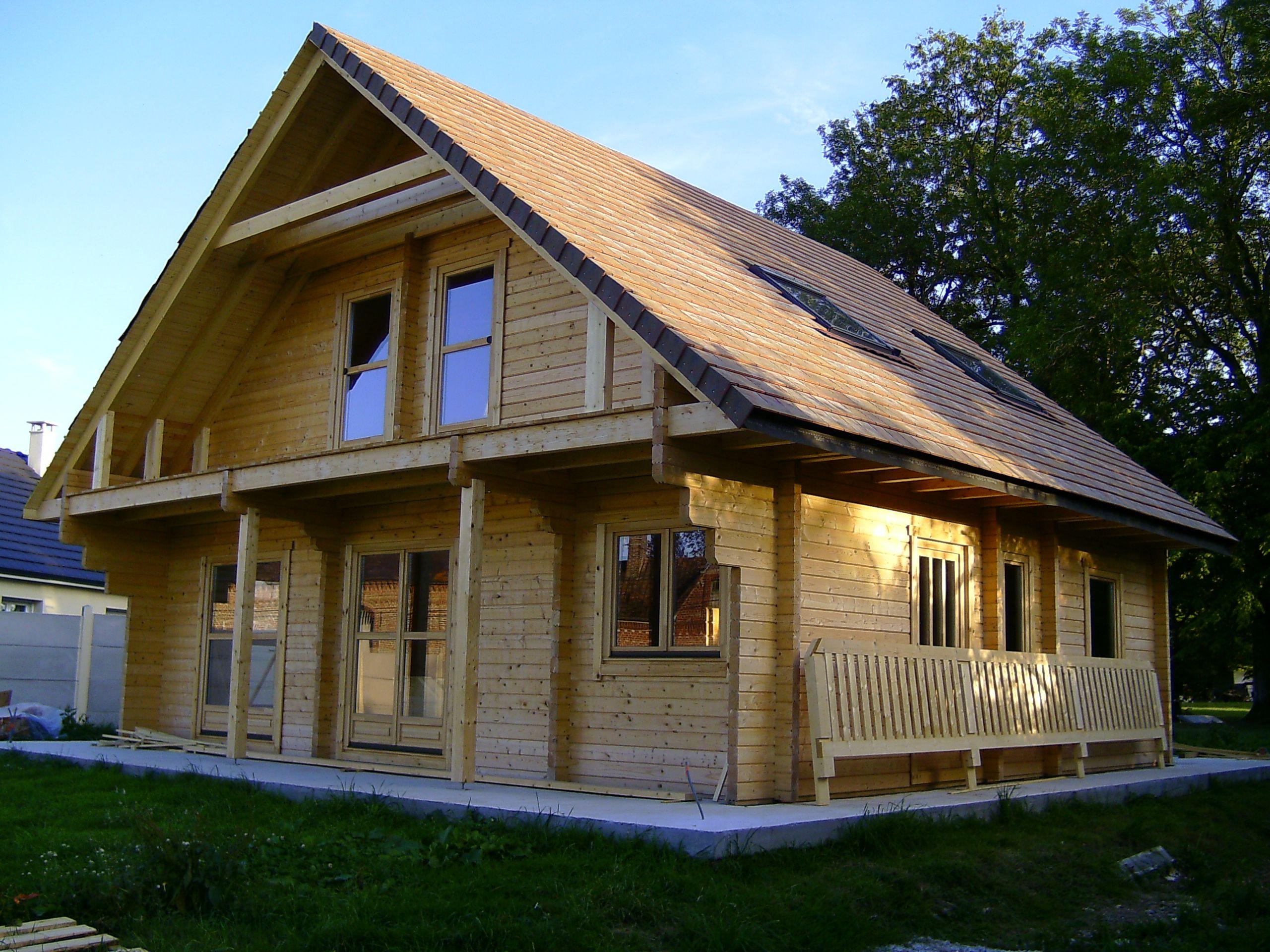 Skandinavien skan votre maison en bois