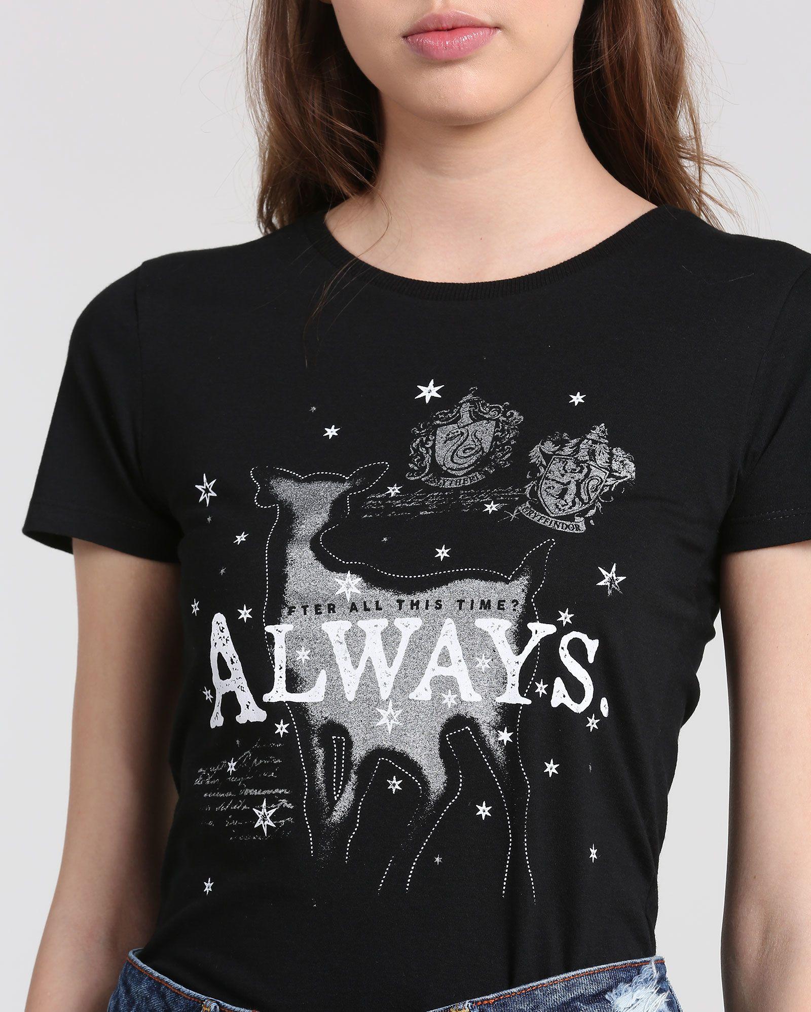 3270a3d9d Camiseta Always Harry Potter - Coleção Feminina - Riachuelo