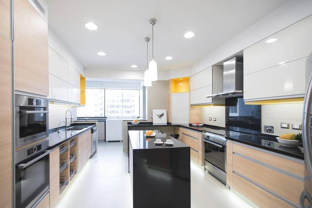 Fotos de cocinas de estilo moderno en amarillo de duo arquitectura ... | {Altholzküchen modern 45}