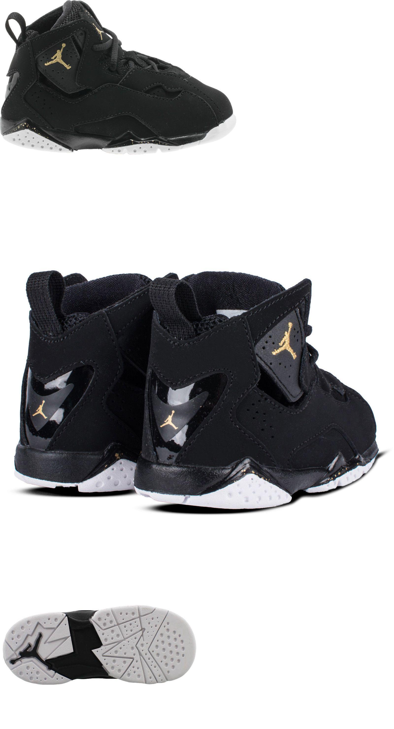Baby Shoes Air Jordan True Flight Bt 026 Black