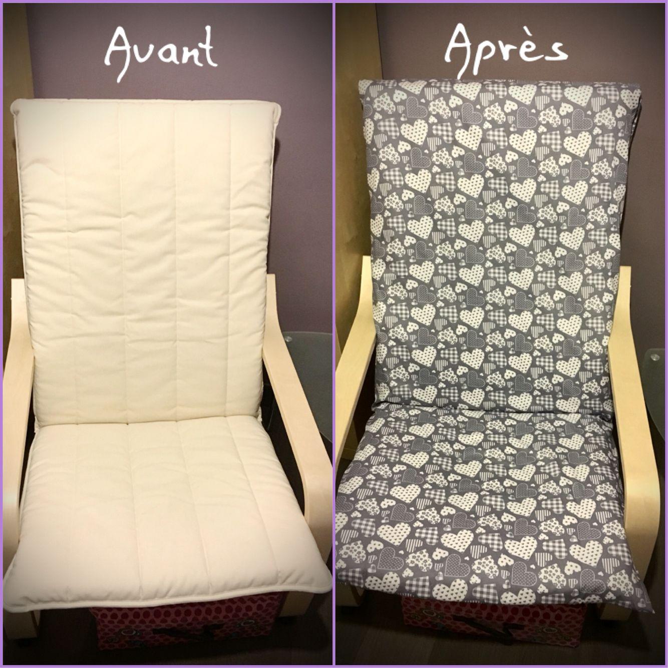 housse de fauteuil poang ikea diy sewing clothes. Black Bedroom Furniture Sets. Home Design Ideas