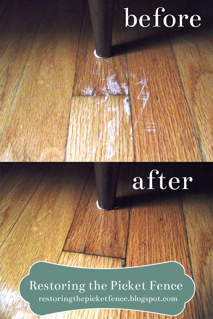 Simple Fixes Removing Scratches From A Wood Floor Cleaning Wood