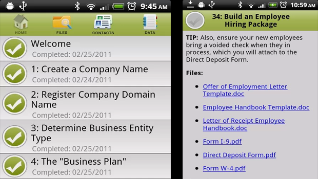 Top business apps for Android tablets and smartphones