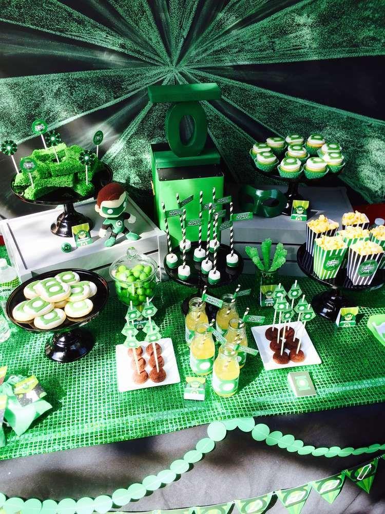 41+ Green lantern room decor info