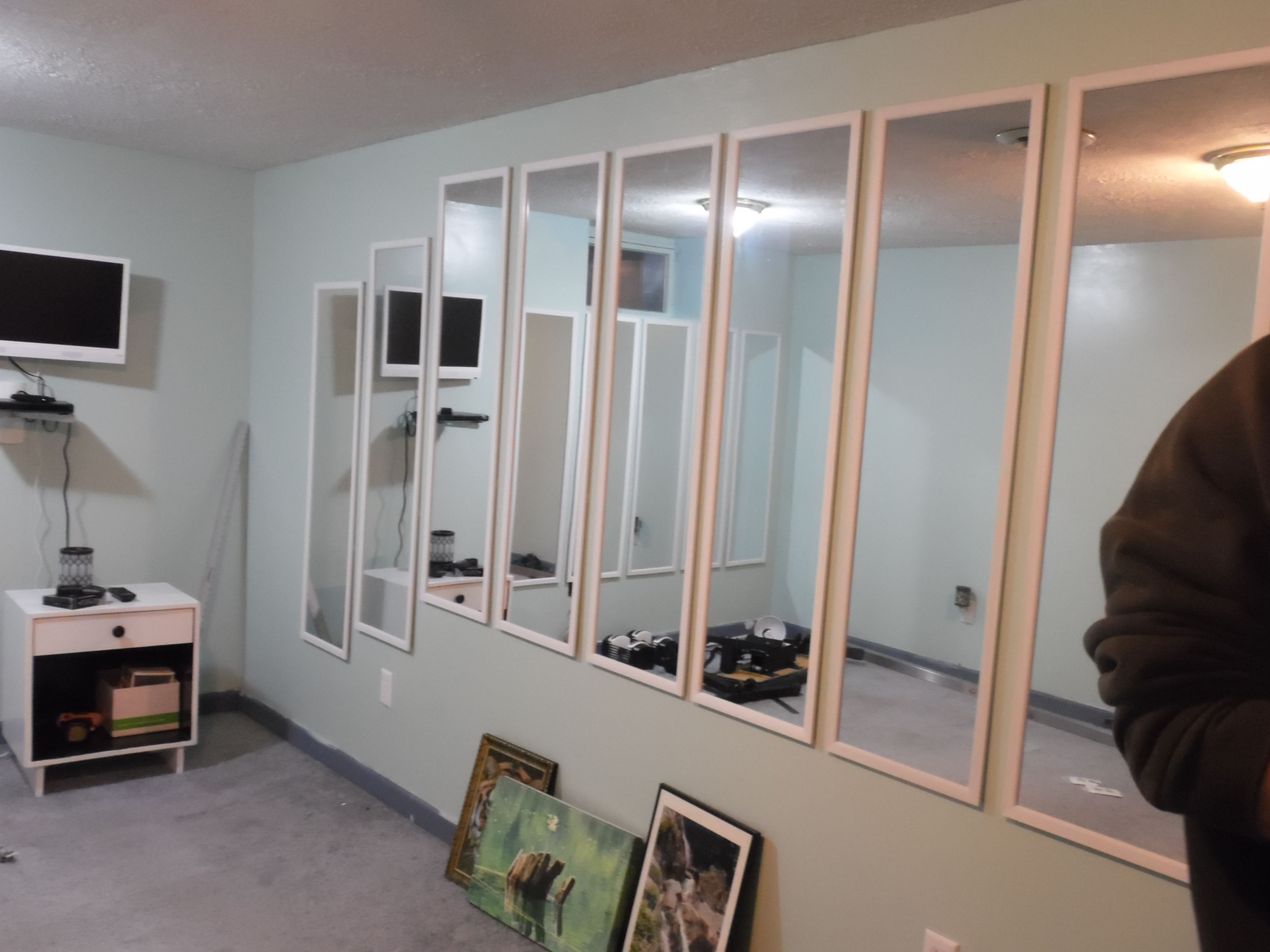Full Length Wall Mirror For Home Gym