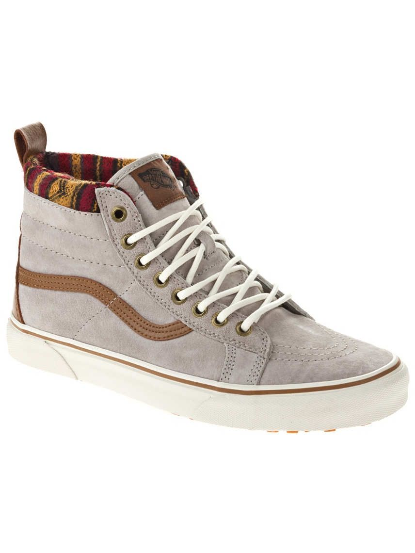 31fc6bb6e4c8db Vans SK 8 Hi MTE Knit Geo Tan These shoes give me life and they re so  comfortable