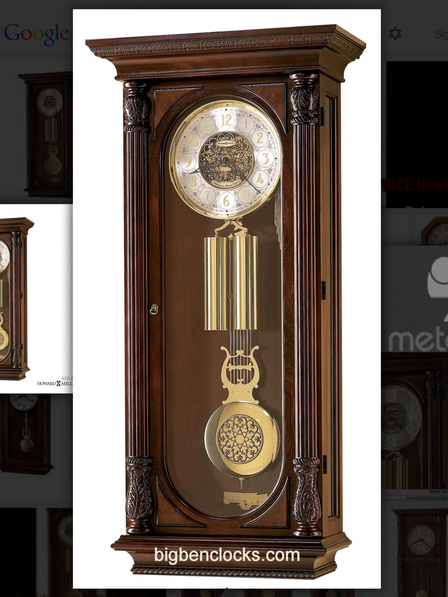 howard miller stevenson wall clock - Howard Miller Wall Clock