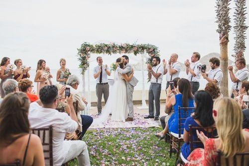 Cabo San Lucas Beach Wedding Banks Leaf Planner