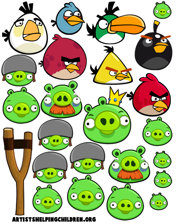 Pin By Kathy Daniels On Clipart Angry Birds Bird Template Bird Crafts