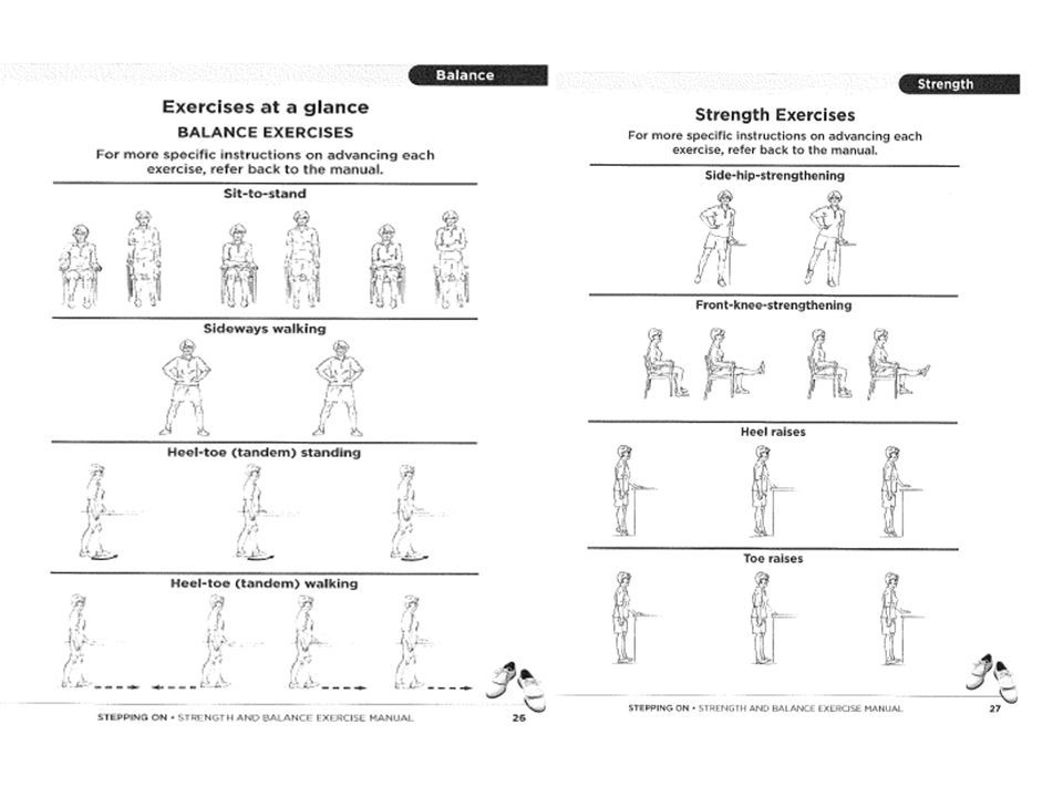 Image Result For Standing Balance Exercises For Seniors Handout Balance Exercises Senior Fitness Exercise