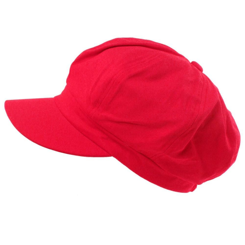 56d31178d Summer 100% Cotton Plain Blank 6 Panel Newsboy Gatsby Cabbie Cap Hat ...