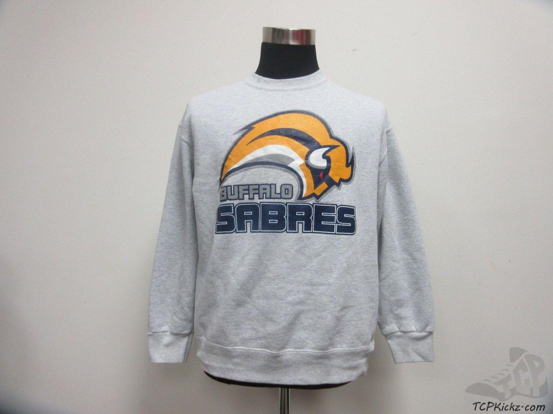 Fruit Of The Loom Buffalo Sabres Crewneck Sweatshirt Sz L Large Nhl Hockey Vintage Buffalo Sabres Sweatshirts Men Sweatshirt [ 1125 x 1500 Pixel ]