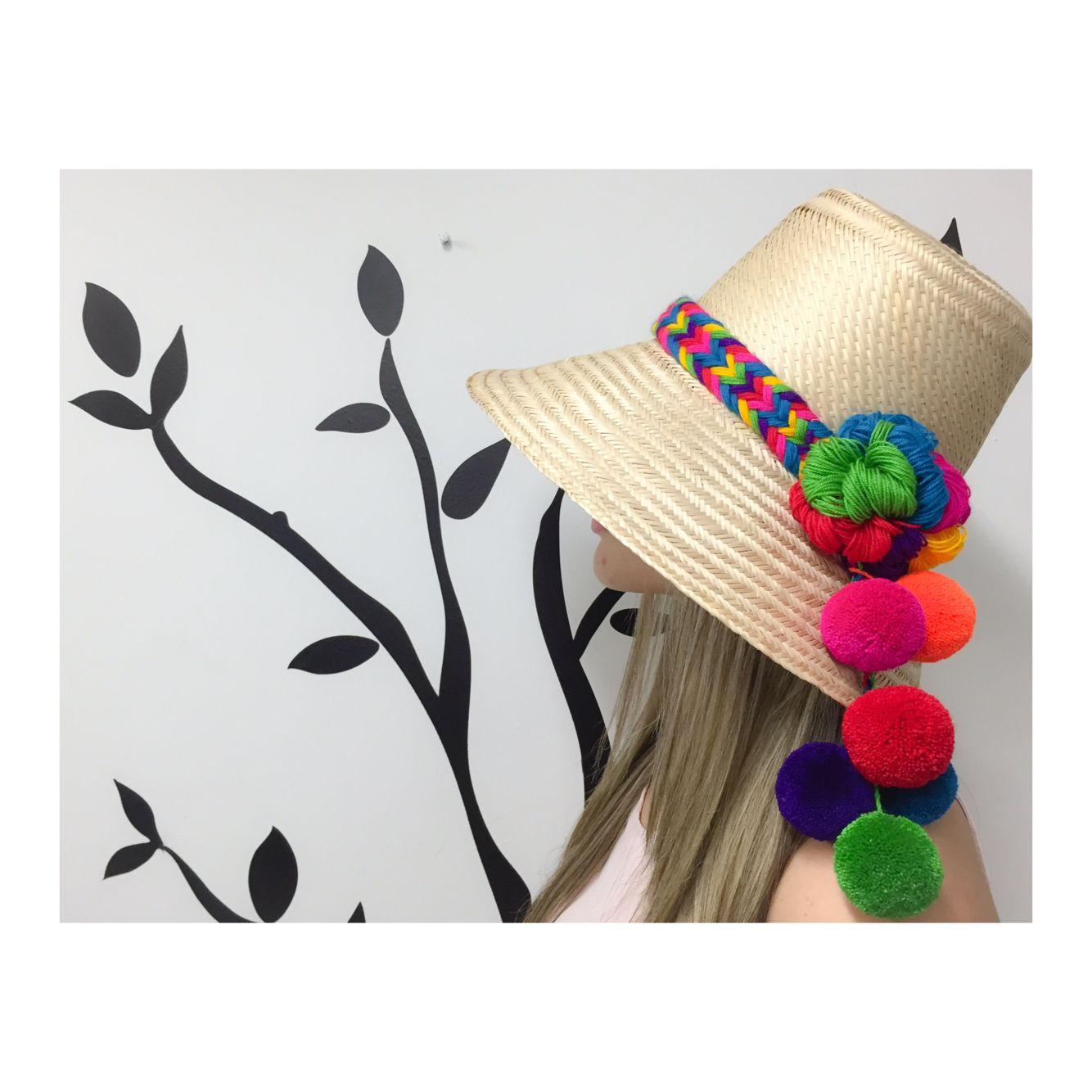Wayuu Hats Sombreros Pintados A Mano 67779cc316f