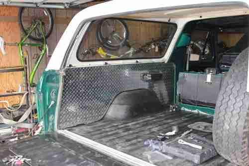 Custom Ford Bronco Cargo
