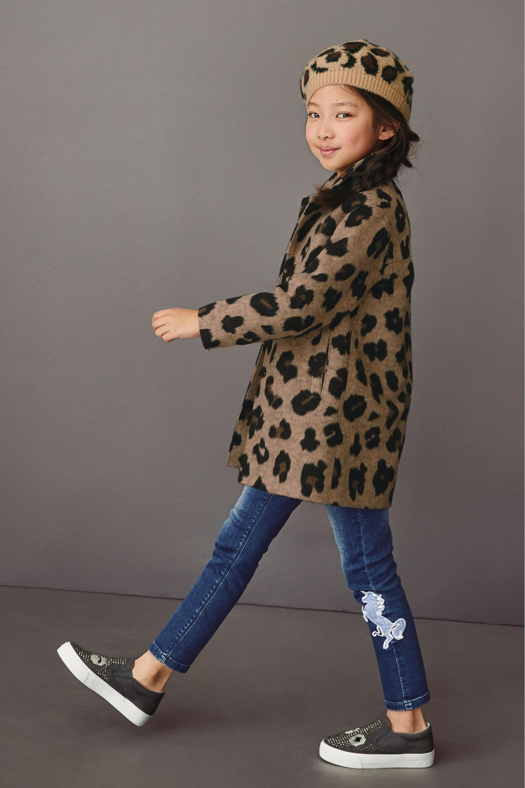 Buy Animal Print Coat 3 16yrs From The Next Uk Online Shop