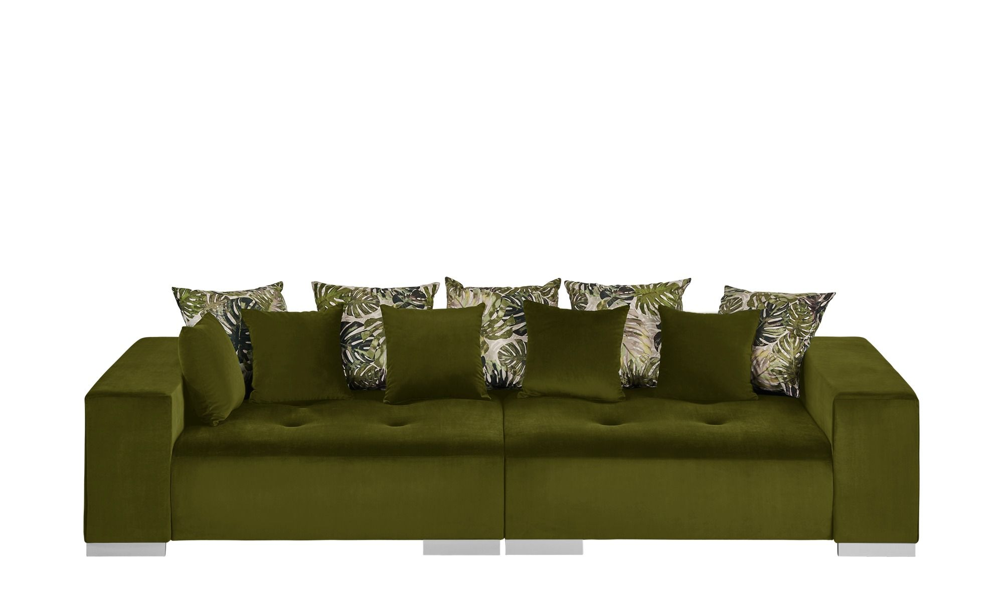 Switch Big Sofa Grun Mikrofaser Kim Grun Hoffner Grosse Sofas Sofa Billig Grunes Sofa