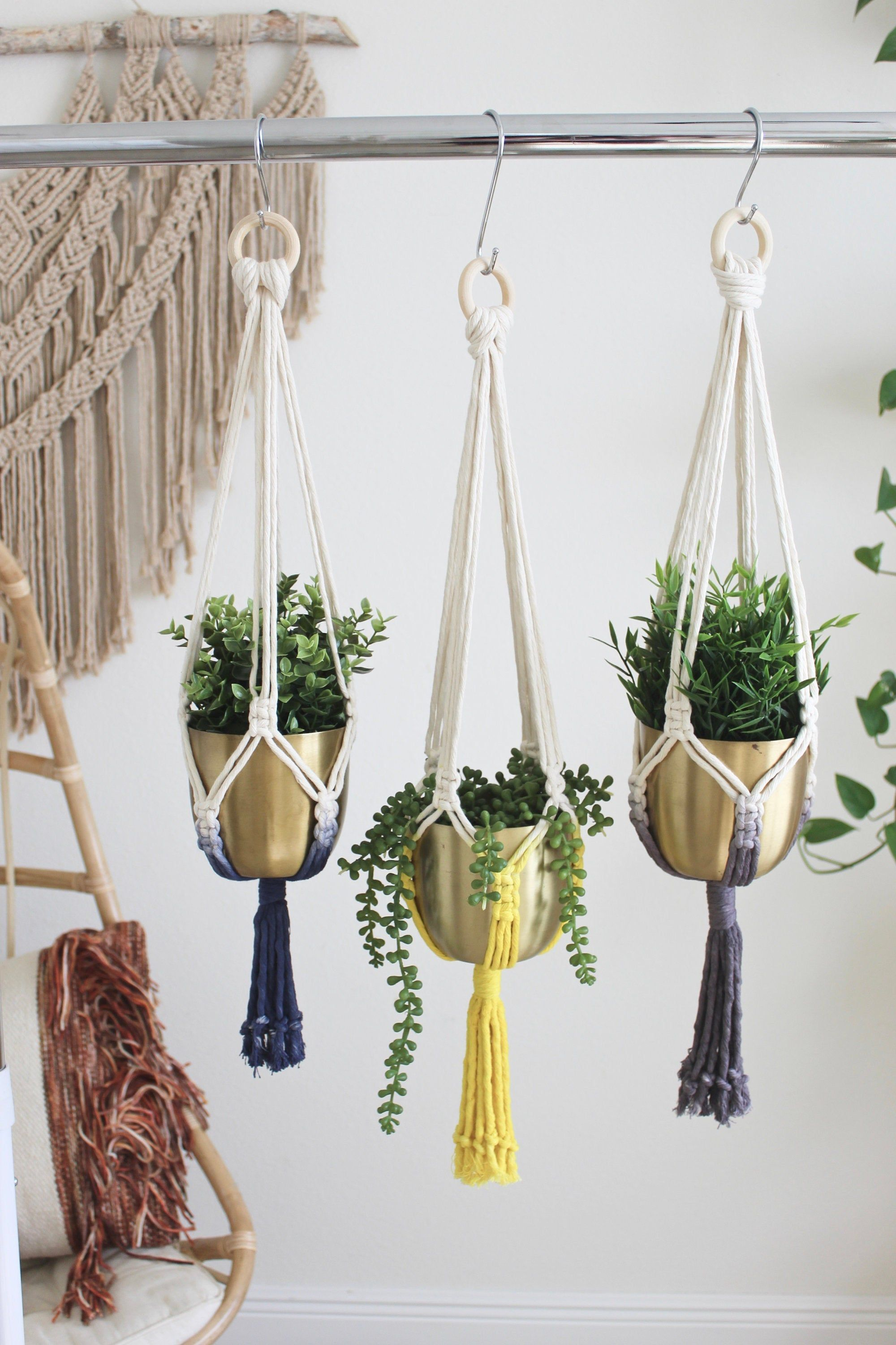 Indoor plants Home sweet home Gifts Wall hanging Hanging plant holder Gift ideas. New home Hanging planter Macrame plant hanger