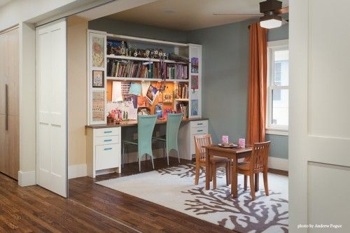 Would Love To Turn A Dining Room That I Never Useprefer Eat In The Kitcheninto An Office Creative Like Way This Has Built
