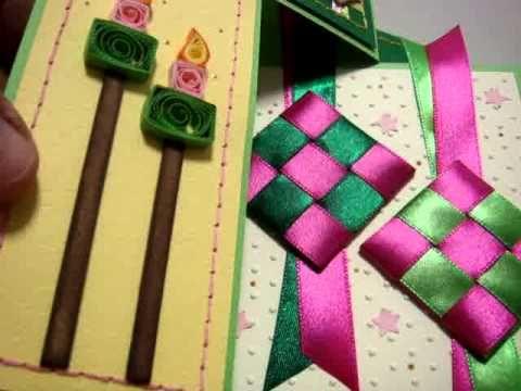 Pin By Azlina Abdul On Videos Of Handmade Cards Swing Card Card Tutorial Cards Handmade