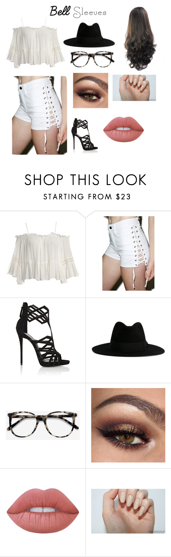 """""""Boi"""" by murderskay ❤ liked on Polyvore featuring Sans Souci, Tripp, Giuseppe Zanotti, Yves Saint Laurent, Ace and Lime Crime"""