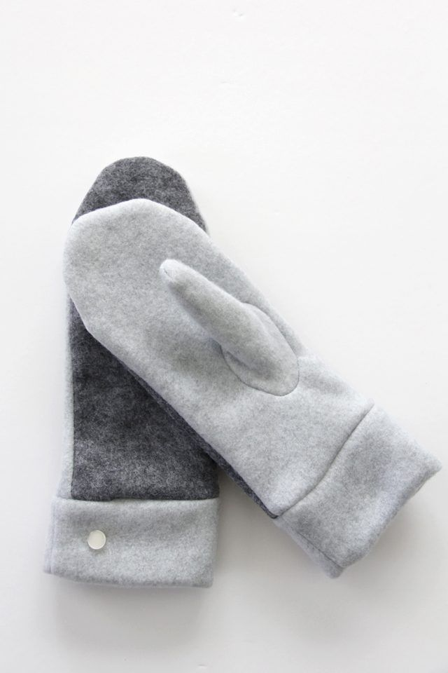 How to Make Felted Wool and Fleece Mittens (With Free Pattern ...