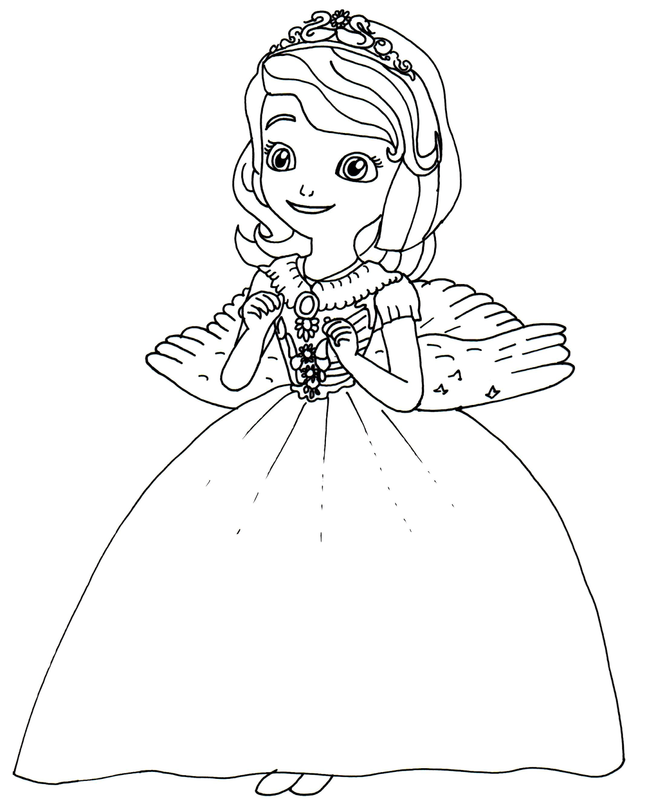 Princess Sofia Coloring Page Google Sogning Disney Coloring Pages