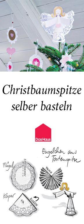 Christbaumspitze Basteln Diy Diy