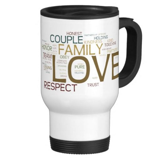 Marriage Word Cloud Coffee Mug-Graphics Design of multiple fonts and colors, it's all about love and family and all the words relating to a healthy relationship. Like - trust, respect; honor, couple; family, partners; anniversary, cherish; loving, kissing; togetherness, faithful, etc. etc. #zazzle #mug #marriage #love #family #wordcloud