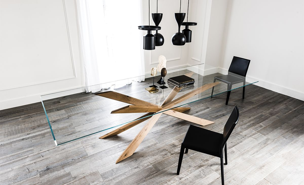 cattelan italia spyder table by philip jackson   tavoli   tables ... - Tavolino Design Gambe Legno Atari Cattelan