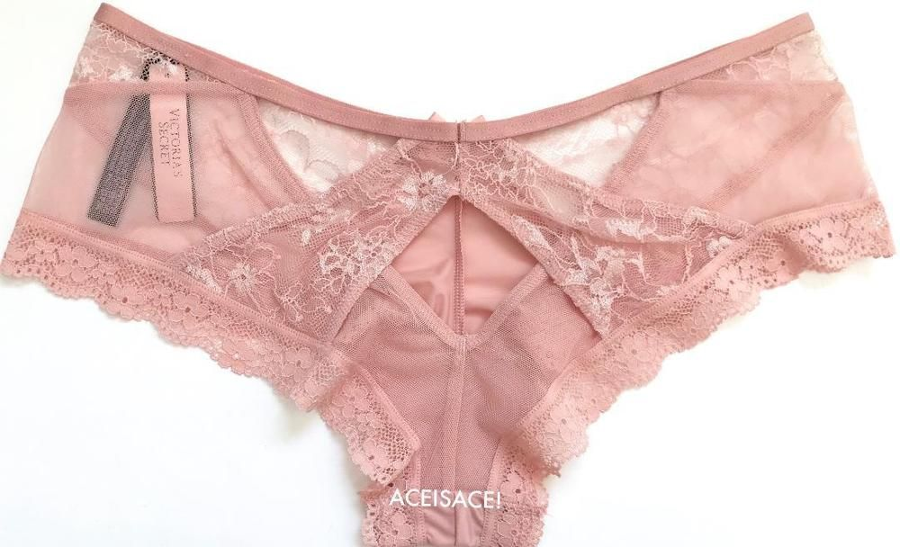 705eff5b6  16.50---NWT Victoria s Secret SEXY FLORAL MESH  CHEEKY PANTY---SUGAR  PINK---M M  VictoriasSecret  VERYSEXYCHEEKY  Glamour