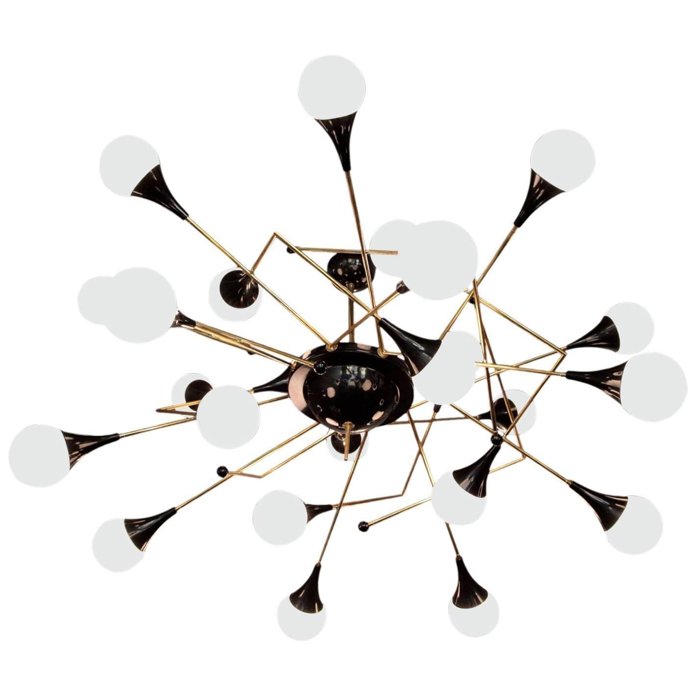Exceptional Huge Atomic or Sputnik Sculpture
