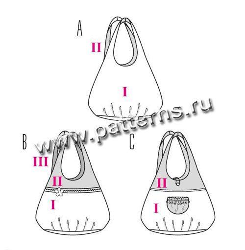 42b6b211dc6e бурда сумки выкройки - Поиск в Google | Сумки и кошельки