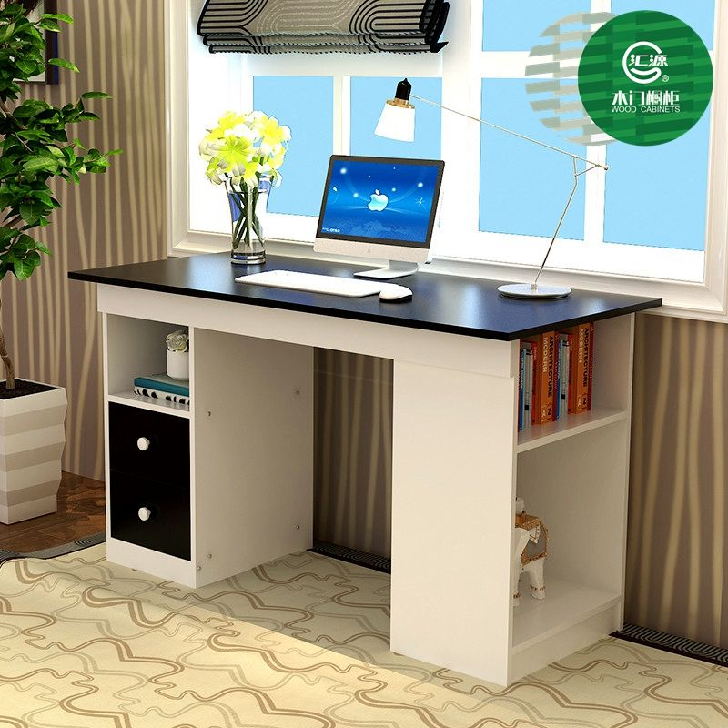 High End Office Furniture Steel Wood Combination Computer Table/executive Office  Desk