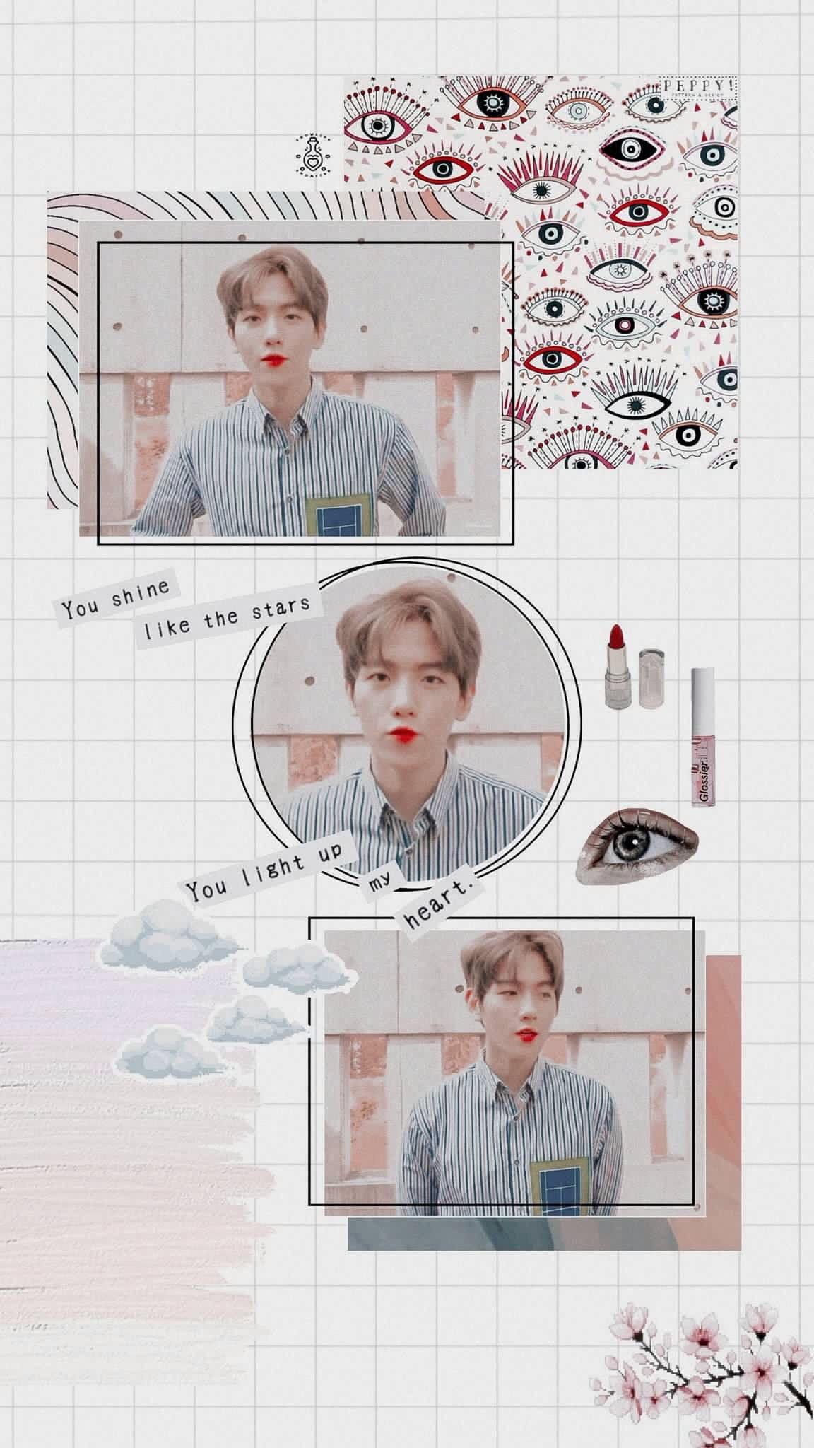 Exo Locks Twitter Baekhyun Wallpaper Baekhyun Kpop Wallpaper