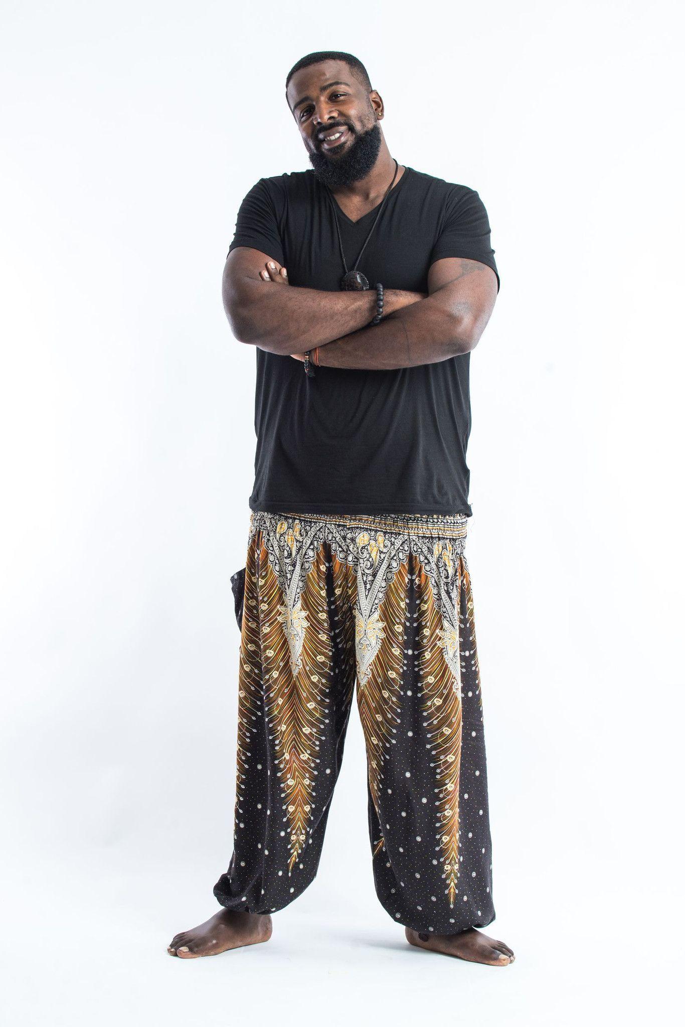 6b5f2576958 Super Soft Plus Size Thai boho yoga harem pants made with silky light  weight