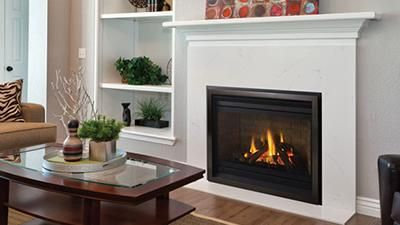 P36 Gas Fireplace With Logs Fireplace Stores Gas Fireplace