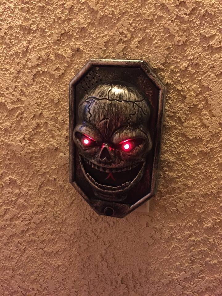 The doorbell My Halloween decorations Pinterest - my halloween decorations