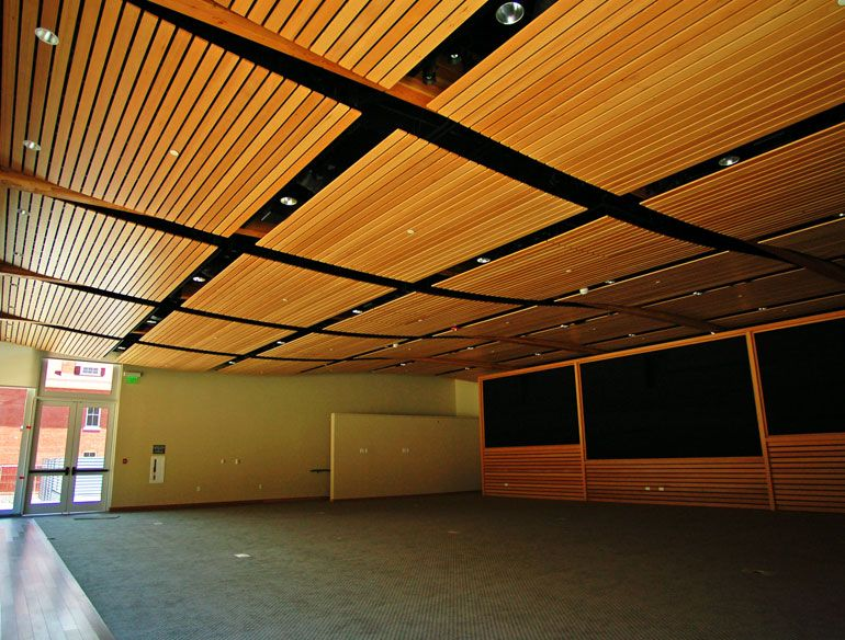 Mucoustik Acoustic wood ceiling 2000,wood ceiling,acoustic ceiling ,ceiling  board,wooden - Wood Grid Panel For Suspended Ceiling - ASU WALTER CRONKITE SCHOOL