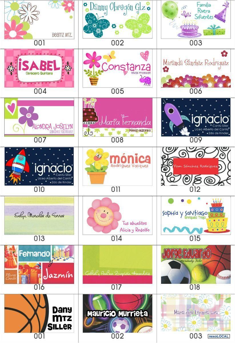 Tarjetas Para Regalos Infantiles Para Imprimir Gratis