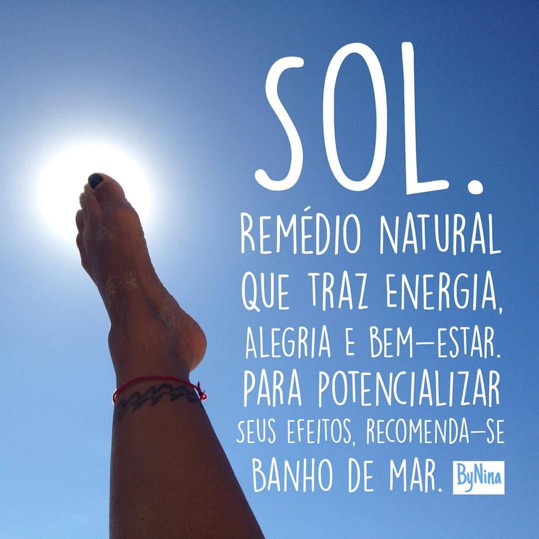 Sol Remédio Natural Que Traz Energia Alegria E Bem Estar Para