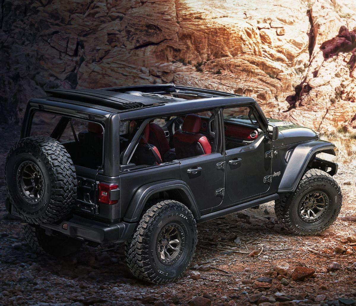Jeep Rubicon 392 Concept Ein V8 In Der Offroad Ikone In 2020 Jeep Wrangler Rubicon Wrangler Jeep Jeep Wrangler