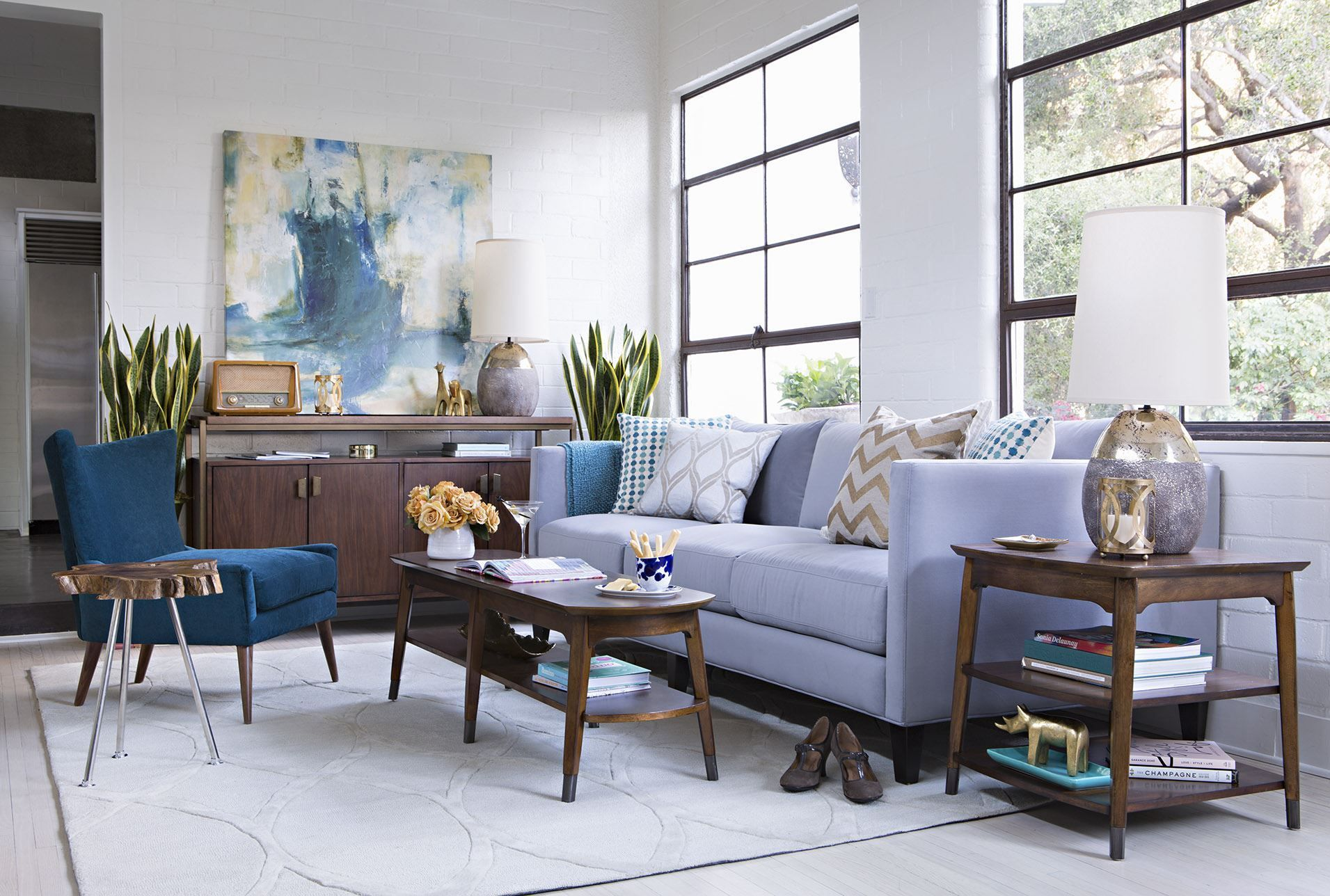 96X120 Rug-Athena Linen - Signature - Liked @ Homescapes Home Staging www.homescapes-sd.com #contemporarylivingroom