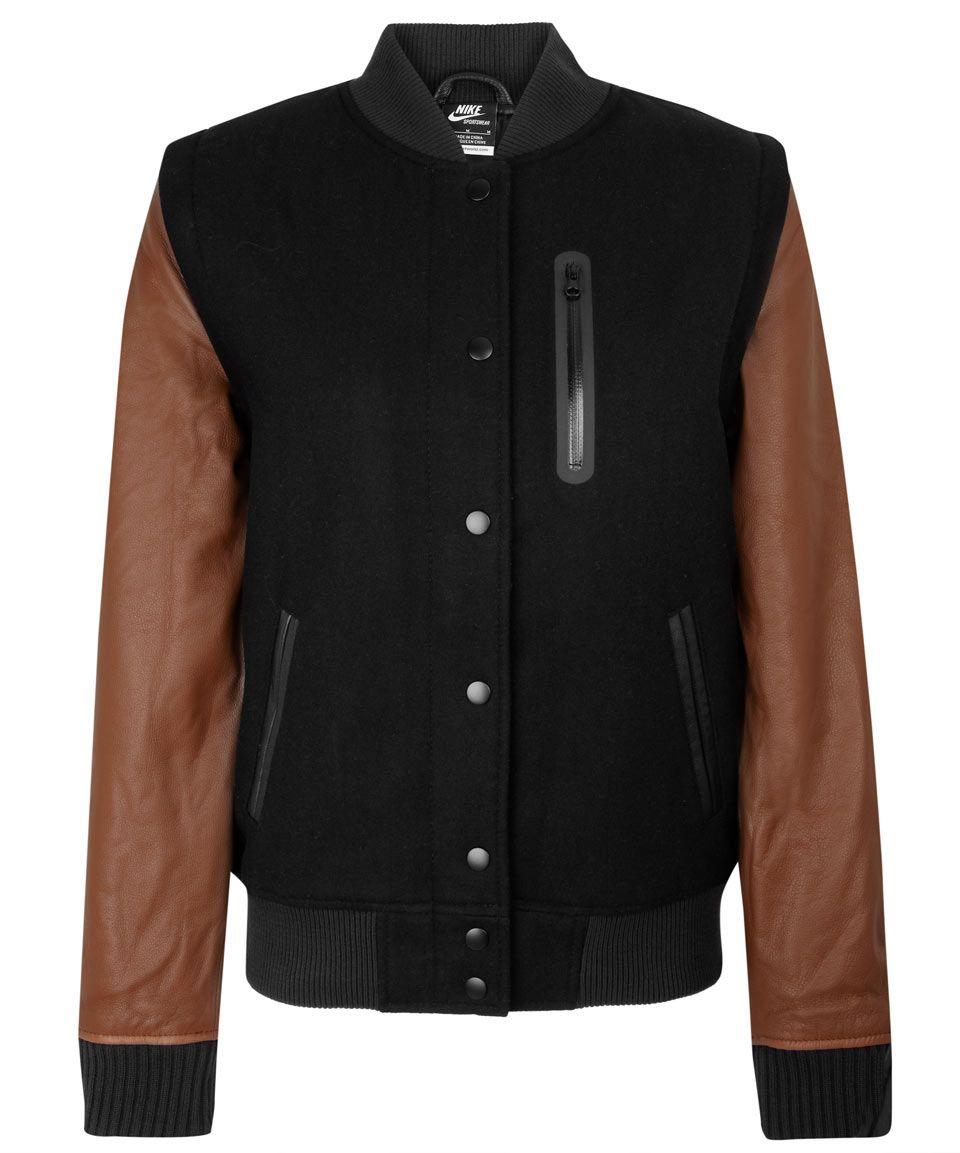 Nike jacket baseball - Nike X Liberty Destroyer Baseball Jacket