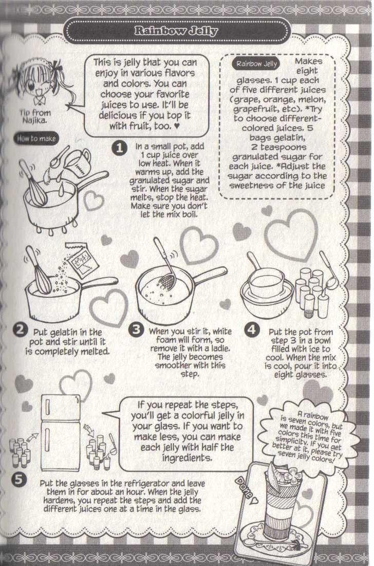 Kitchen Princess Manga Recipes Google Search Rainbow Jelly