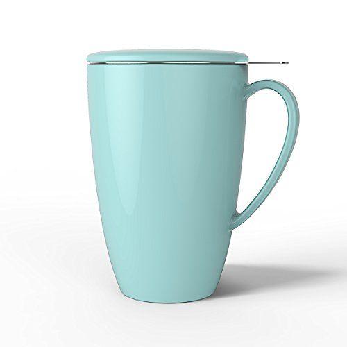 Sweese Porzellan Tasse Teesieb Becher Teetassen Mugs