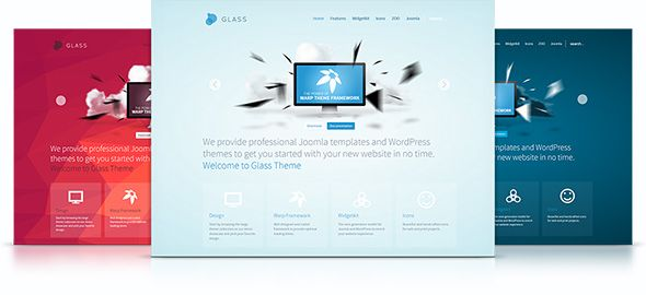 YT Glass v.1.0.0 – Yootheme WordPress Theme | WordPress Themes ...